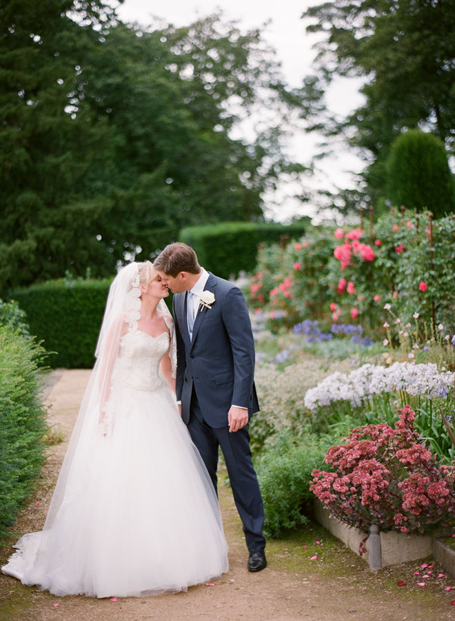 Belvoir Castle Wedding Photo