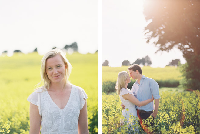 Engagement Photography Shoot on Film